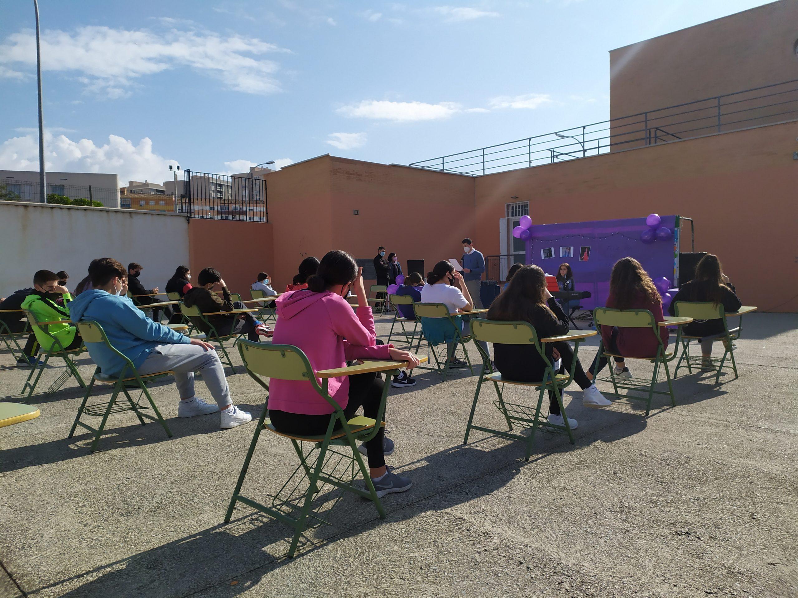 Celebración del día de la Mujer - IES Francisco Giner de los Ríos - Motril